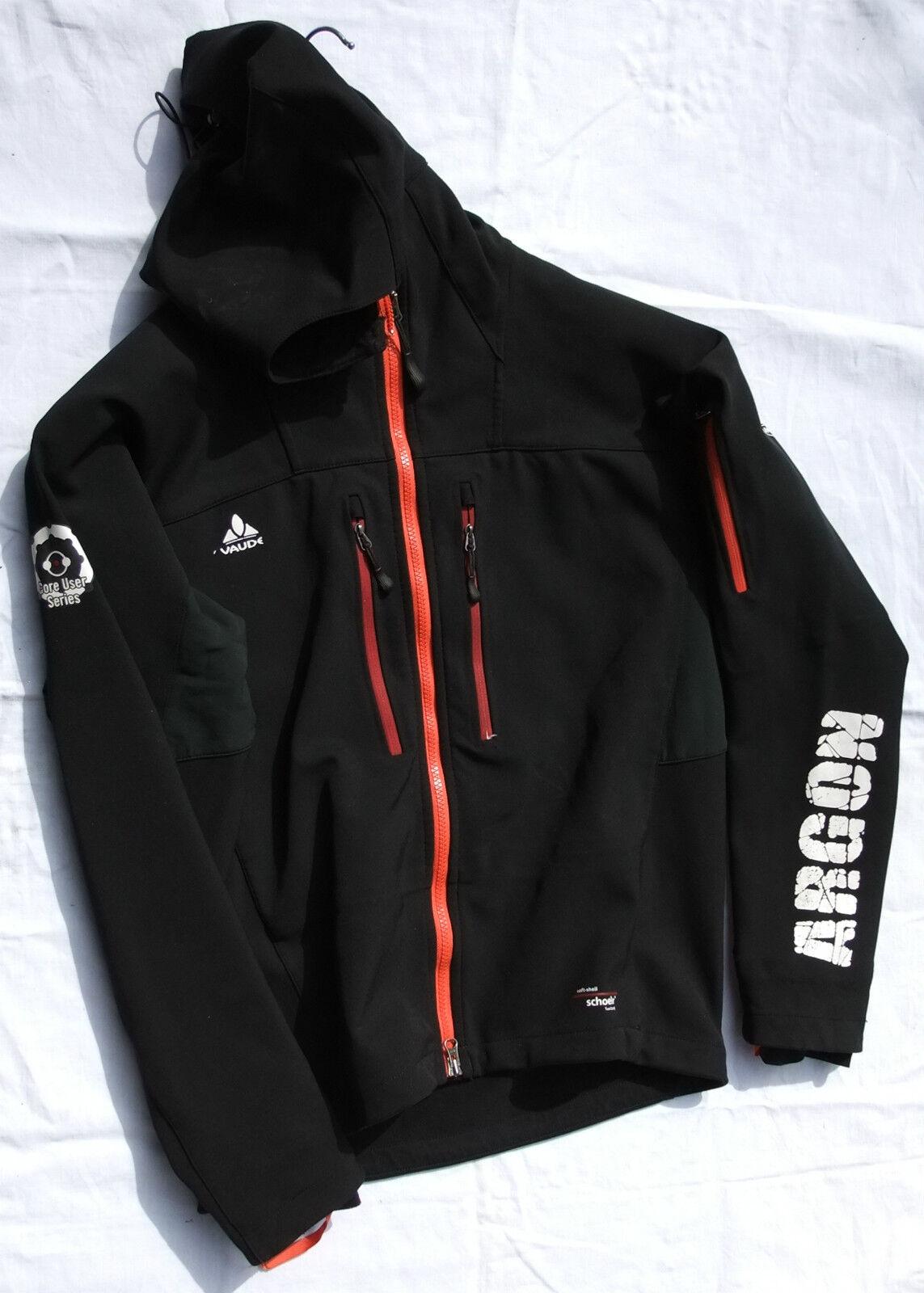 Vaude Softshell-chaqueta  argón , negro talla m