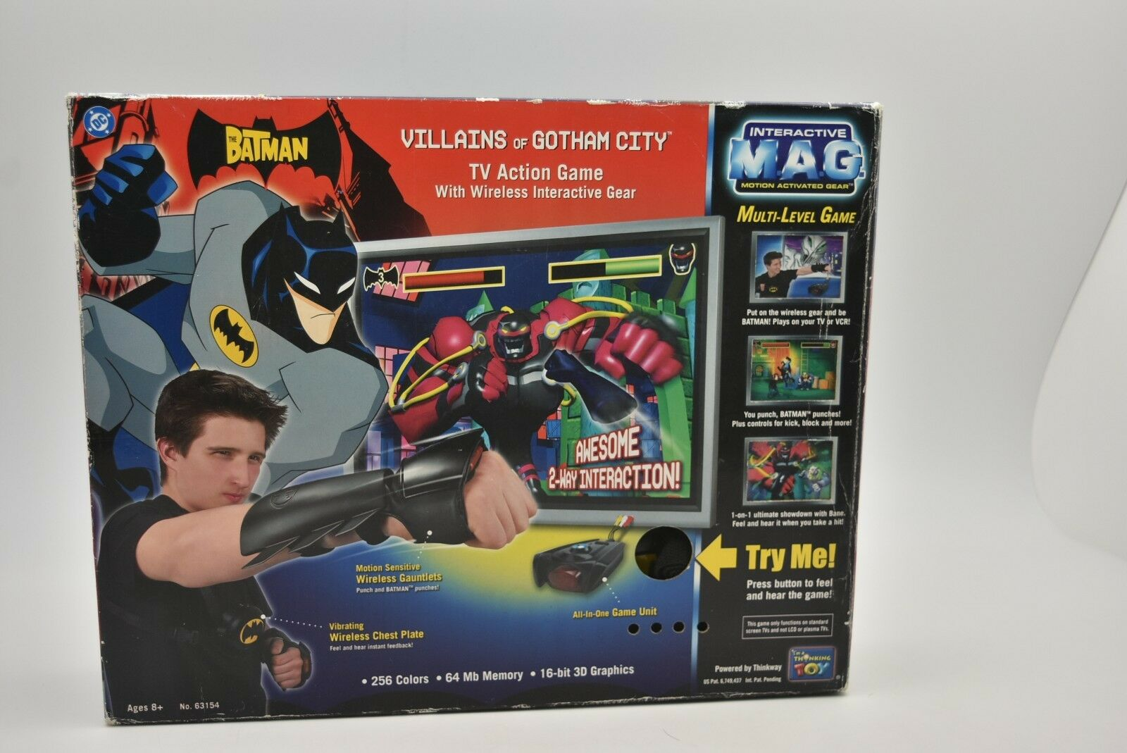 DC Batman villanos de Gotham City Tv Juego De Acción Wireless Electronics