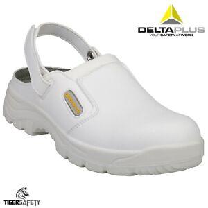 Delta Plus Maubec SBEA White Mens Steel