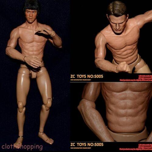 """ZC Toys S005 1//6 scala stretta spalla muscolare Figura Corpo per 12/"""" Hot Toys"""