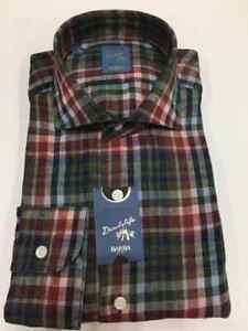 Lino 10 Uomo Puro Camicia Quadri Mod Sconto liu026577802q Barba 8qaITw