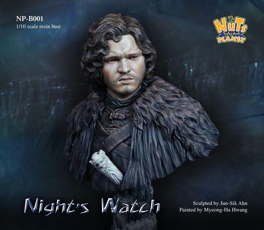 Nutsplanet Night's Watch Fantasy Knight Model Unpainted 1 10th scale bust kit