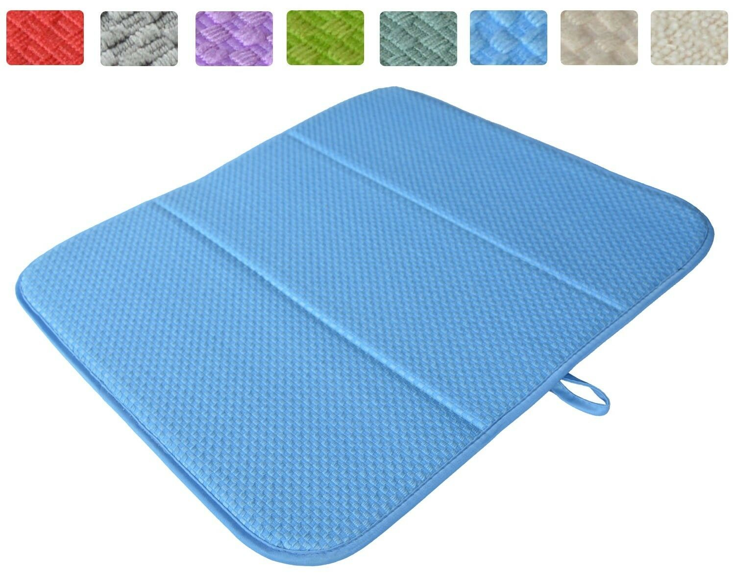 Sinland Kitchen Microfiber Dish Drying Mats Super Absorbent 16inch X ...
