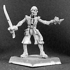 Grim Pete Razig Sergeant Reaper Miniatures Warlord Undead Pirate Skeleton Melee