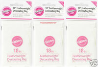 Wilton Premium 3 Featherweight 18 Decorating Bags - Cheapest Price On Ebay