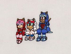 Samurai Pizza Cats Anime Production Cel Speedy Poly Guido Tatsunoko Studio 1990