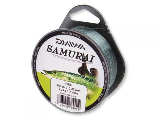 0,024 € // 1 Meter DAIWA Samurai Hecht 250m 0,40mm