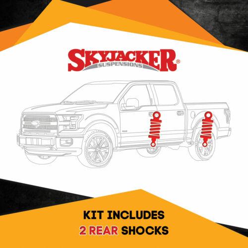 "05-16 Ford F350 Super Duty 4WD 3.5-5/"" Lift Rear Skyjacker Nitro Shocks"