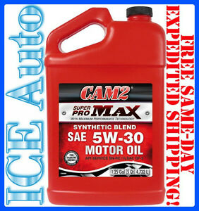 5 Quart Cam2 5w30 Superpro Max Synthetic Blend Motor Oil