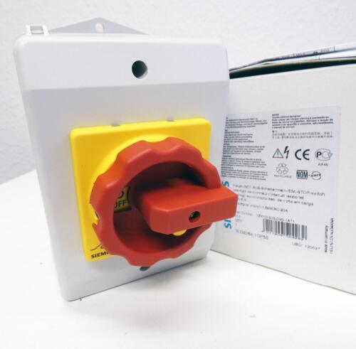 Siemens 3ld2264-1gp53 3ld2 264-1gp53 32 A 690 V E 03 Interrupteur principal-UNUSED//Neuf dans sa boîte