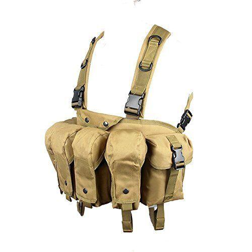 DLP Tactical Intruder Universal Pecho plataforma con 308 223 bolsas de revista