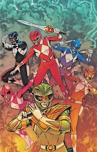 BOOM-Comics-MIGHTY-MORPHIN-POWER-RANGERS-25-NM-Virgin-Variant-C2E2-LOW-PRINT