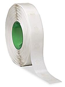 """Glue Dots REMOVABLE 1,500 adhesive dots low-profile 1/2"""" medium tack"""