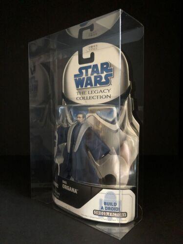 STAR Wars la Legacy Collection 3.75 Pollici Figura Protettiva Display Case