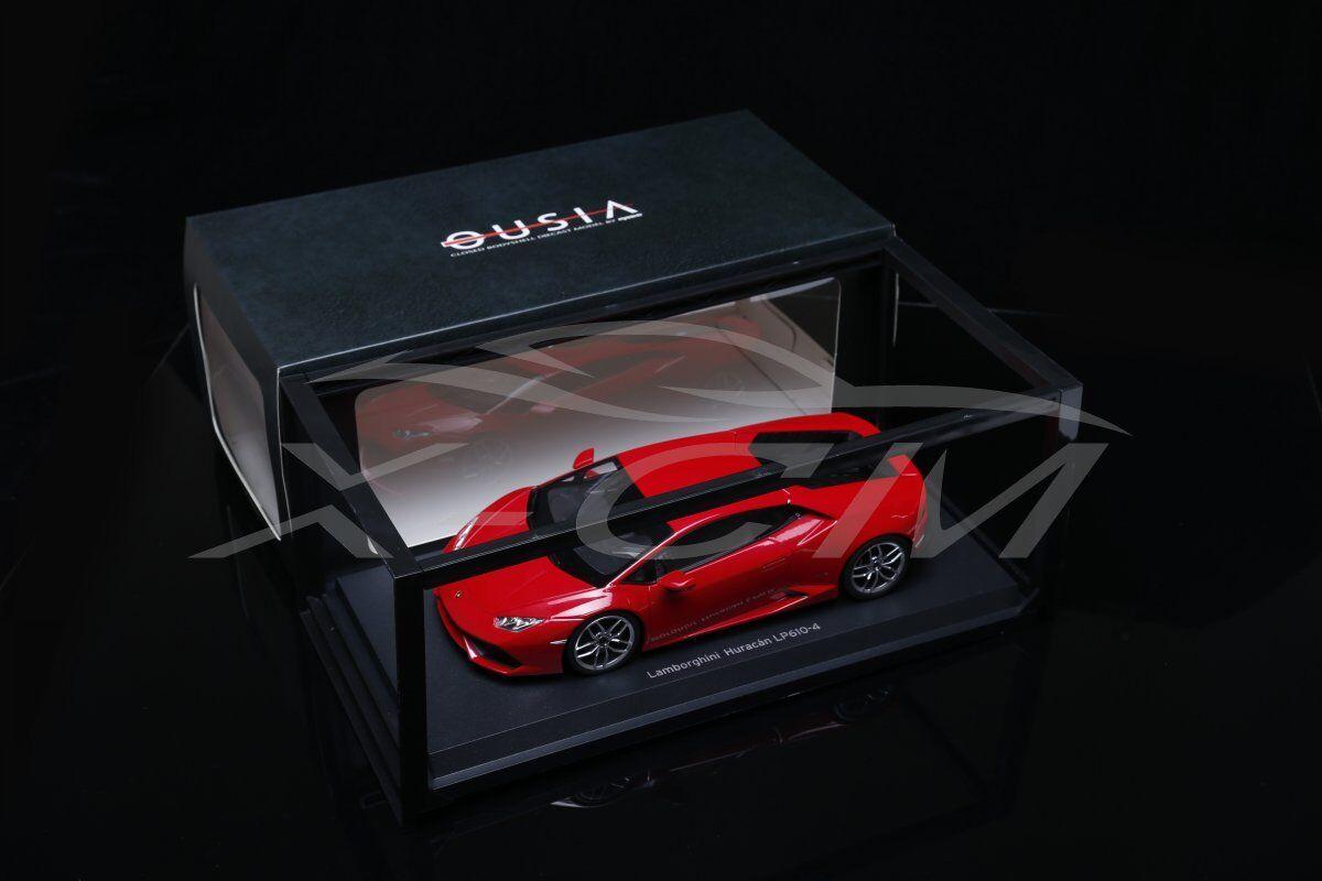 Diecast Car Model Kyosho Lamborghini Huracan LP610-4 1 18 (Red) + GIFT