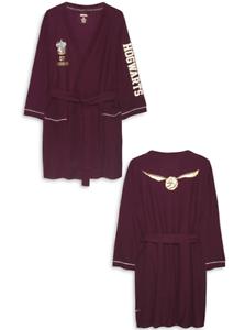Harry Potter Dressing Gown Summer Bath Robe Women S Primark Gryffindor Ladies Ebay
