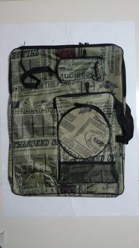 "A2 Sketch Drawing Board Art Supplies Travel Shoulder Portable Storage Bag 26x20/"""