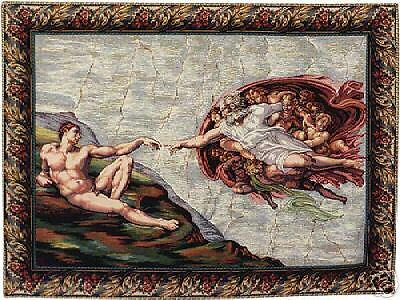 CLASSIC TAPESTRY WALL HANGING CREATION by Michelangelo