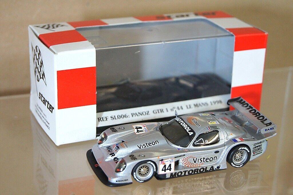 STARTER MODELS 1998 PANZOL GTR1 LE MANS Car No 44 BERNARD TINSEAU O'CONNELL mv