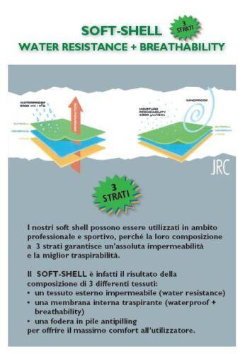 Imperméable couches Bolzano Jrc 3 Personnalisable Softshell Jacket xYttdaP