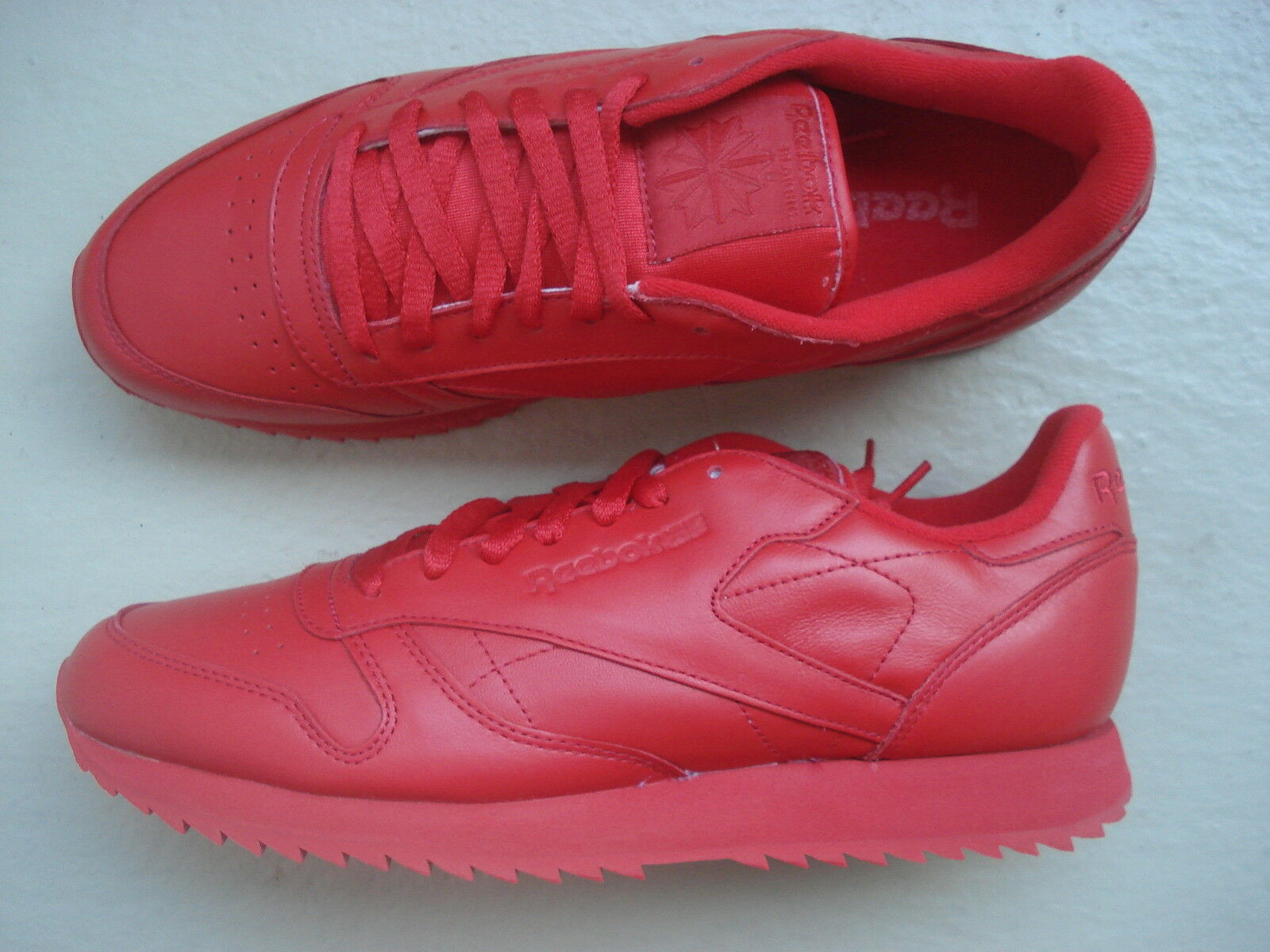 Reebok Classic Leather Ripple 45.5 Red/Red