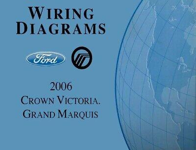 2006 Ford Crown Victoria, Mercury Grand Marquis Wiring ...