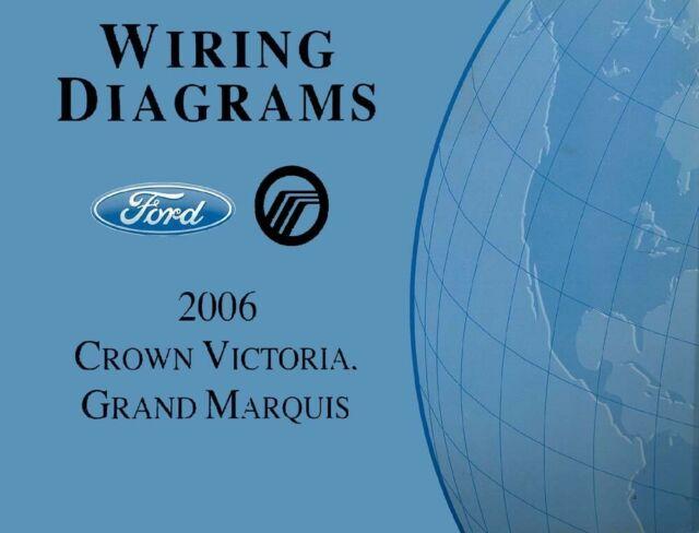 Oem 2006 Ford Crown Victoria  Mercury Grand Marquis Wiring