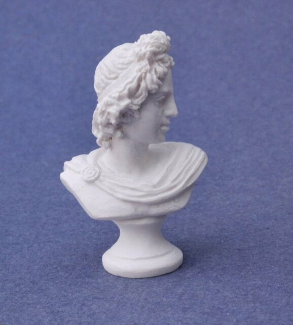 Statue plastic resin dollhouse miniature  A3939 1//12 scale  1pc Beethoven