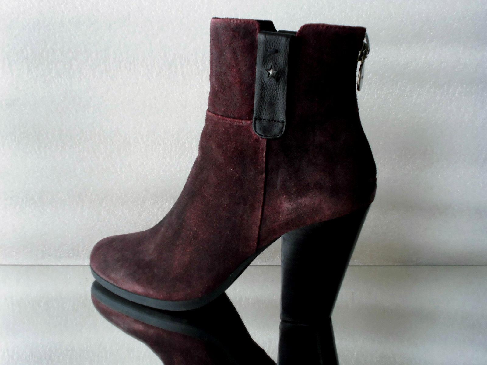 Zapatos especiales con descuento Damen Stiefeletten GEOX C7452 Farbe Skarlet Gr:36-40 Neu