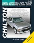 GM Full Size Trucks Automotive Manual: 99-06 by Jeff Kibler (Paperback, 2008)