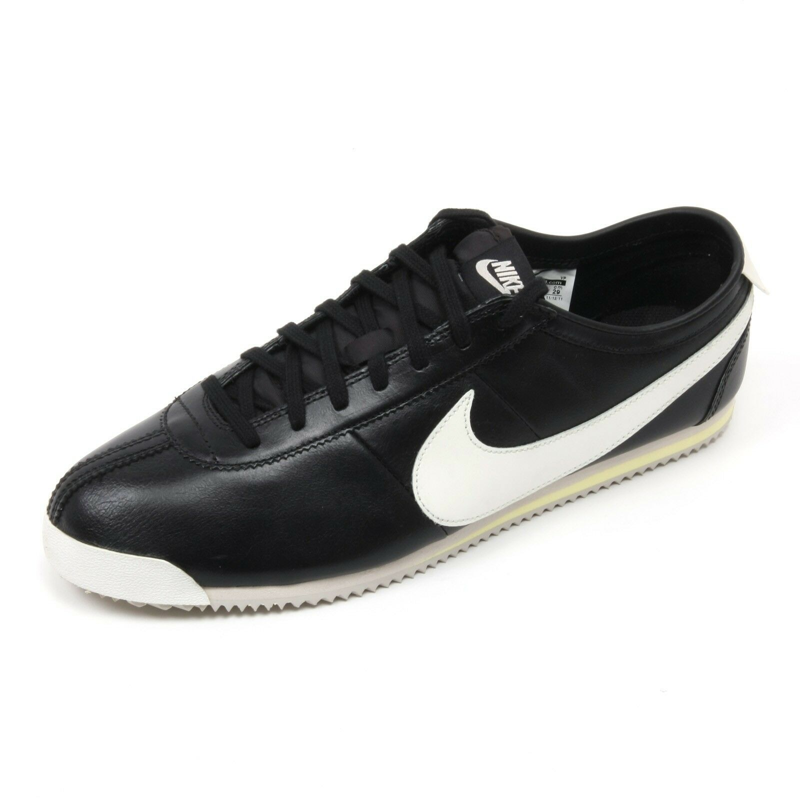 C2654 sneaker uomo NIKE CORTEZ CLASSIC OG LEATHER scarpa avorio/rosso shoe man