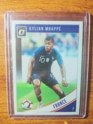 France 2018-19 Donruss Soccer Base #132 Kylian Mbappe