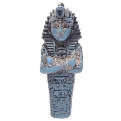 Nice Statua Antico Egitto Faraone Tutankhamon Piramide Sarcofago Soprammobile Sfinge Clearance Price Asian Antiques