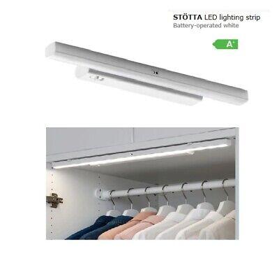 Ikea Hopen Guardaroba.Ikea Illuminazione A Led Striscia Stotta Alimentato A Batteria Bianco 32 Cm Guardaroba Luce Nuovo Ebay