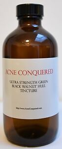 Ultra-Strength-Green-Black-Walnut-Hull-Tincture-8-Oz-by-Acne-Conquered