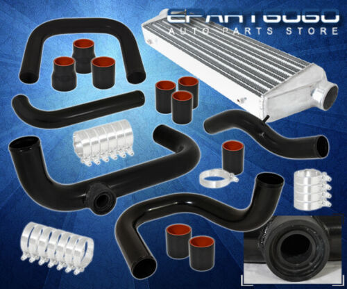 For 92-95 Civic Bolt On Piping Kit Fmic Intercooler Sqv Ssqv Adapter Flange