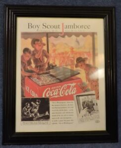 Boy-Scout-Jamboree-June-30-July-9-1937-Washington-DC-Framed-Print-Coke-Ad