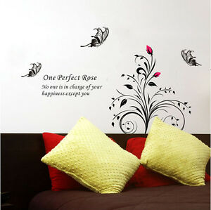 Tree-Butterflies-Removable-Wall-Art-Decal-Vinyl-Stickers-Home-Decor-Mural-DIY