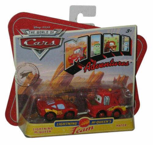 DISNEY PIXAR CARS MINI ADVENTURES MATTEL S TOKYO DRIFT MATER toy bundle