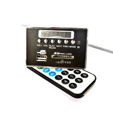Bluetooth Module WAV+WMA+MP3 decode board 12v Digital LED player FM Radio car B-
