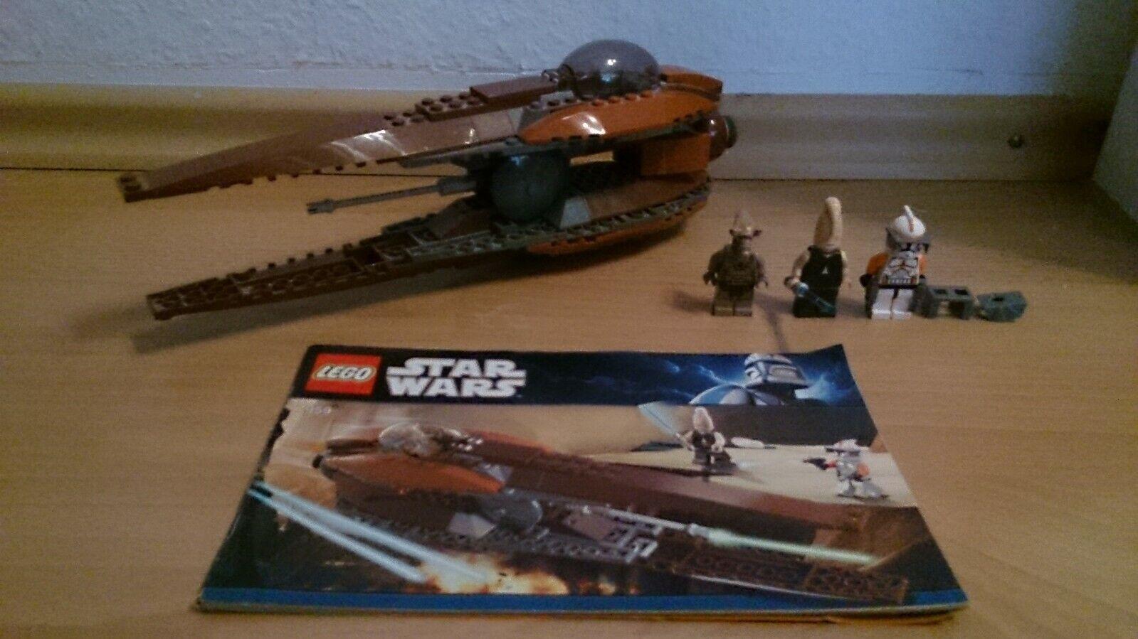 Lego Star Wars 7959 Geonosian Starfighter Top mit Figuren und Aufbauauanleitun