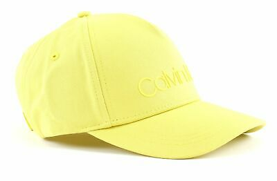 Calvin Klein Cap Cap Accessorio Safety Yellow Giallo Nuovo-mostra Il Titolo Originale
