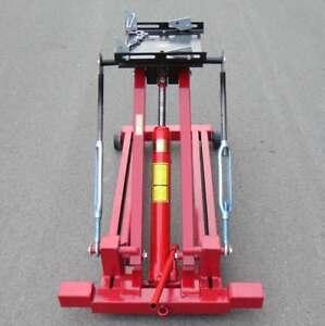 Free-Shipping-Low-Profile-Hydraulic-Transmission-Jack-Lift-2-Ton-4400Lbs