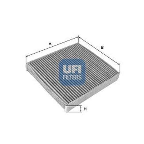 Fits Skoda Fabia 6Y2 1.4 16V UFI Activated Carbon Cabin Pollen Filter
