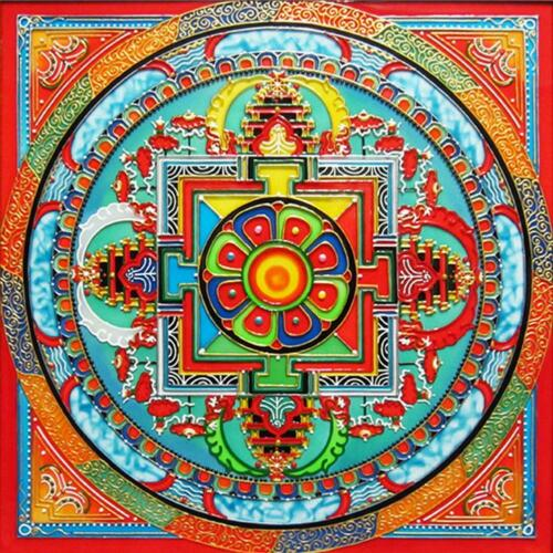 5D DIY Full Drill Diamond Mandala Painting Cross Stitch Home Crafts Decor  #Buy