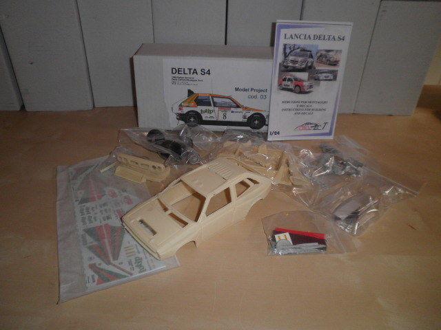 1 24 kit Delta S4 Project Model San Remo Remo Remo 86  Esso oil Tabaton decal rare 6835fb
