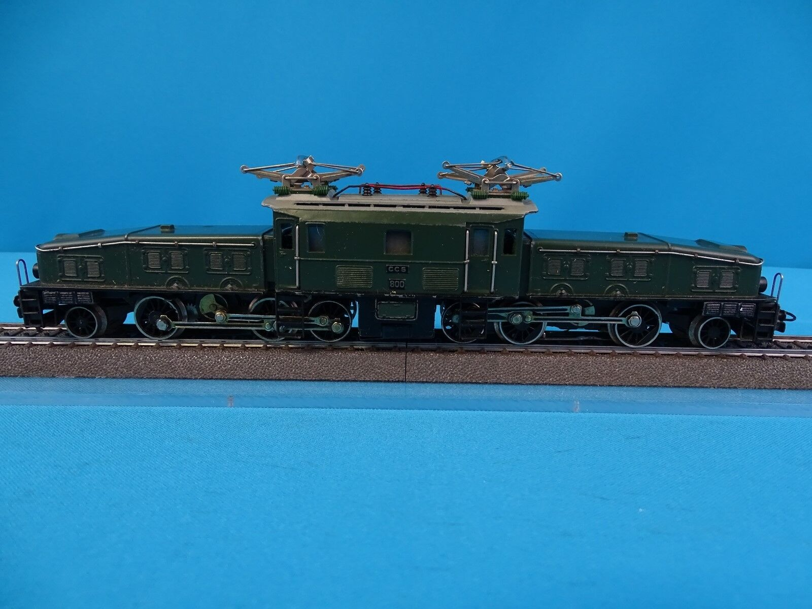 Marklin ccs 800 sbb cff elektrische lokomotive br ce 6   8 krokodil version 9 1957