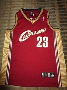 premium selection 2d470 c0166 Details about LeBron James #23 Cleveland Cavaliers NBA finals adidas Jersey  52 mens