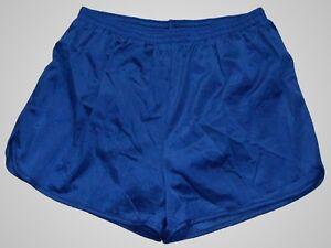 Augusta-Blue-Nylon-Running-Track-Shorts-Men-039-s-XL
