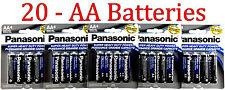 20 Wholesale Panasonic AA Double A Batteries heavy Duty Battery 1.5v Bulk lot